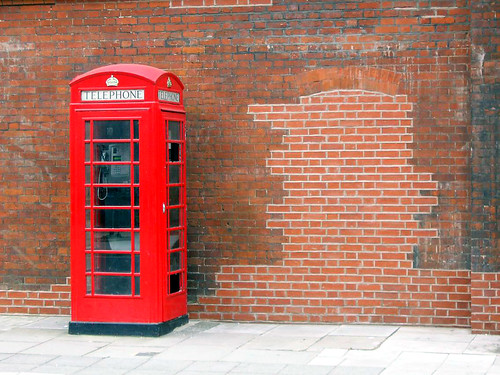 Telephone Box by Roberat.