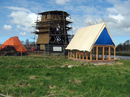 Alkmaar, molen C with shed