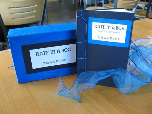 date in a box
