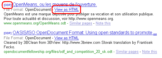 View as HTML