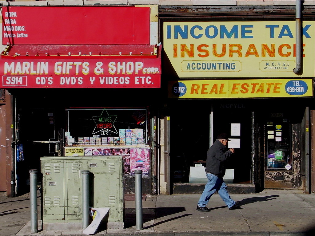 storefronts, sunset park