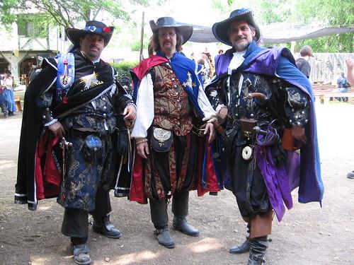 Musketeer Trio