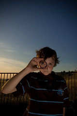 A Keen Eye (Chris Matz) Tags: chris sunset portrait field brother flash sb600 colby tallgrass matz offcamera sc28