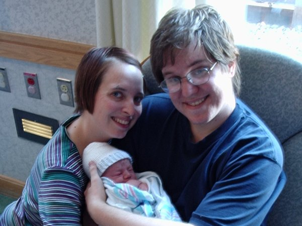 Jule Ann and Jeremy with baby Trevor