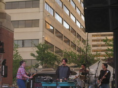 Istanbul Not Constantinople (pattie74_99) Tags: summer music concert downtown knoxville stage band free theymightbegiants marketsquare
