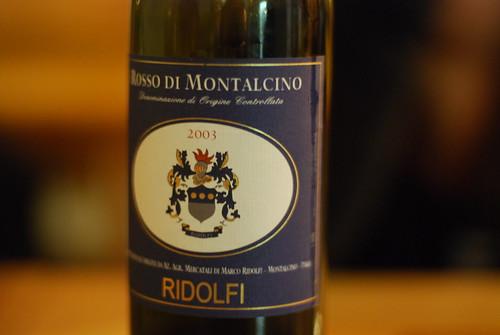 2003 Rosso di Montalcino Ridolfi