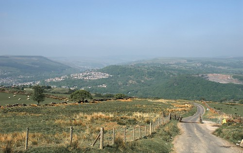 Towards Pontypridd
