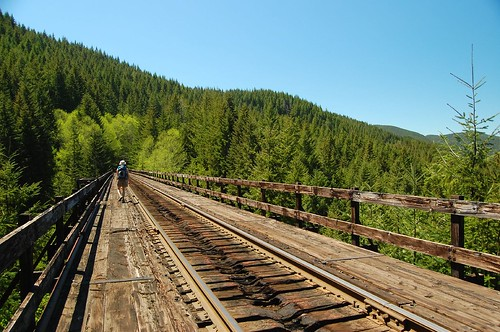 Trestle with a view
