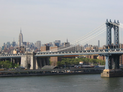 Manhattan Bridge & Empire State
