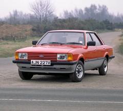 1982 Ford Cortina Crusader (Stuart Axe) Tags: classic ford cortina car sedan classiccar sierra maritime 80s 70s 1970s 1980s saloon taunus xr mk4 fordcortina mk5 fordtaunus cortina80 xr4 unlimitedphotos dagenhamdustbin