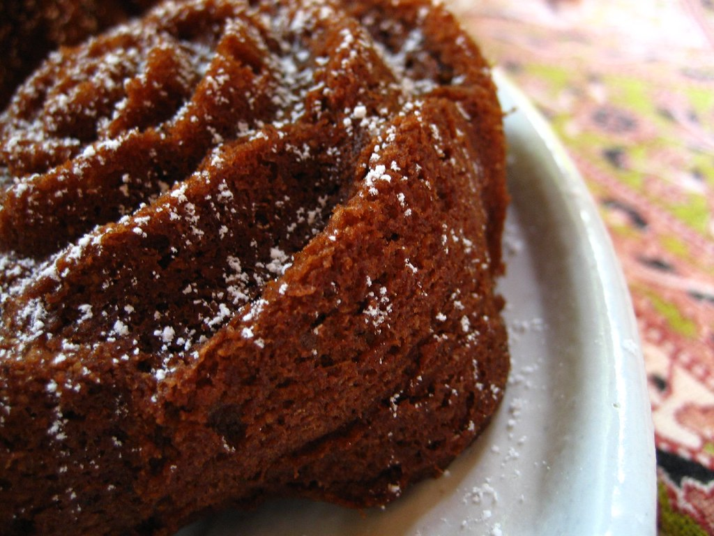 chocolate bread cakelette
