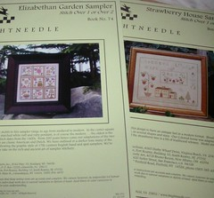 Brightneedle Elizabethan Garden Sampler & Strawberry House