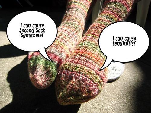 The talking socks