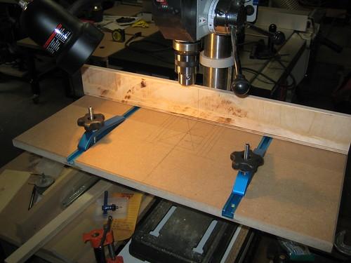 8 inch Drill Press Platform Fixture