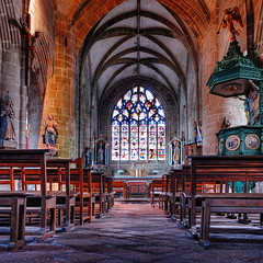 Church of Locronan | Brittany, France | davidgiralphoto.com (David Giral | davidgiralphoto.com) Tags: david france church stone nikon village pierre bretagne villages medieval breizh d200 29 glise hdr middleage bzh finistre beaux locronan giral mdival nikond200 supershot 18200mmf3556gvr ttdhr abigfave artlibre copyrightdgiral davidgiral superaplus aplusphoto