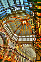 Leadenhall Market - London (nick.garrod) Tags: building london architecture market victorian hdr leadenhall flickrsbest artizen lock06