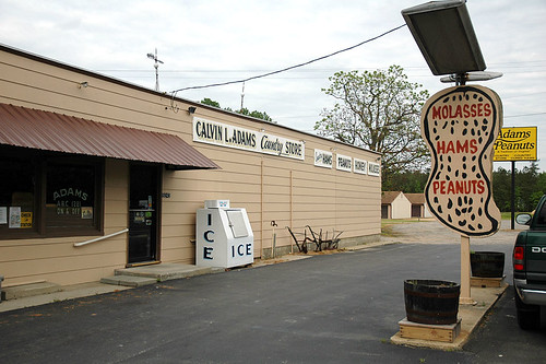 Calvin L. Adams Country Store (aka Adams Peanuts), Waverly, Virginia