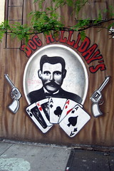NYC - East Village: Doc Holliday's Saloon - Chico mural by wallyg, on Flickr