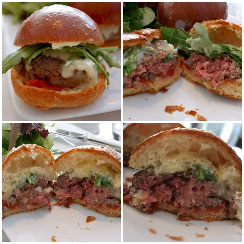Bouchon Sliders Innards Collage
