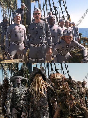 Rodaje Piratas del Caribe