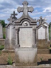 Galgahévízi Kegyeleti Park / Park of Piety in Galgahévíz (ssshiny) Tags: park sky cemetery grave hungary gravestone ég magyarország temető sírkő 230countrieshungary sír galgahévíz