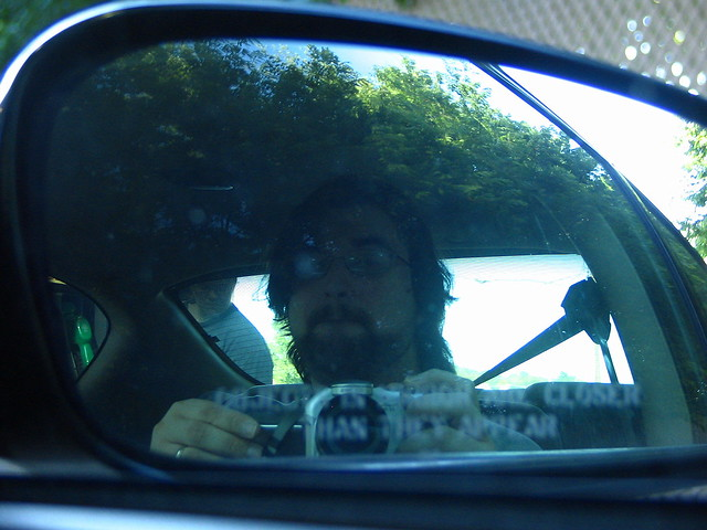Self portraits are closer than they appear