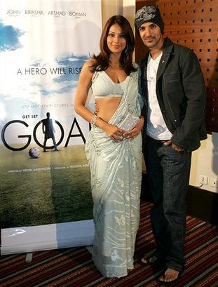 Bipasha Basu and John Abraham photo