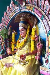 Karumariamman (Sirensongs) Tags: sculpture woman india yellow statue temple shrine icons bangalore goddess best karnataka hindu southasia sirensongs theindiatree indologistatlarge