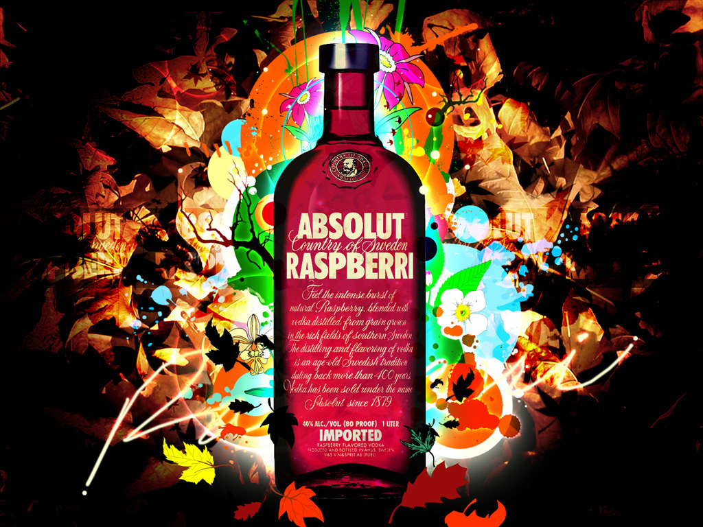 wallpapers de absolut vodka
