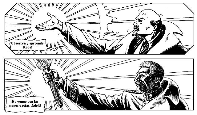 Comic Stalin vs Hitler - Alexey Lipátov 510900667_d1af036090_o
