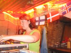 DJ Kathryn Wildt @ Hej Hej (Seeking Irony) Tags: sweden sverige scandinavia hejhej