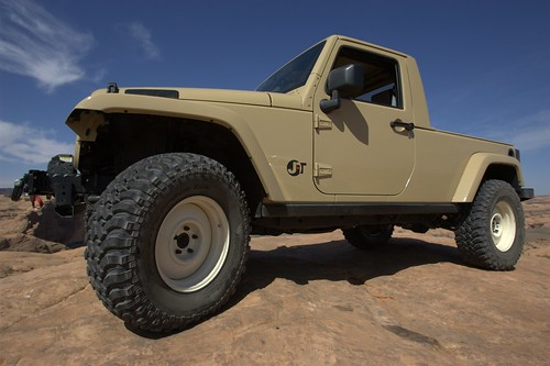 SEMA 2007: Jeep JT Concept Ready To Play