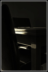 waiting (miss southpaw) Tags: table chairs thesmiths stillill utata:project=justblack