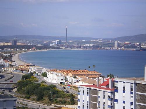 Bahía de Algeciras de día / Algeciras's Bay at daylight