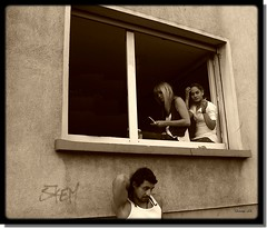 by the window (milleluce.com) Tags: people bw white black blanco window sepia blackwhite oneofakind negro bn explore blanc noire giang exemplary 10faves beautifulcapture cotcbestof2006 flickrfavoritephotographers aplusphoto amazingshots flickrelite ultimategold thegoldenmermaid superamazingshots giangle astoundingimages bnwart