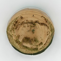 Arrakis (Man) Tags: sea panorama beach dunes dune 360 full handheld 360x180 spherical vende planetoid hugin enblend littleplanet manuperez planetoids