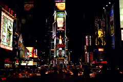 Times Square 99 (transiently permanent) Tags: newyorkcity night lights minolta manhattan 1999 timessquare