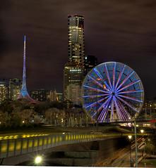 Ferris wheel - Melbourne, Australia - by Andrew Hux