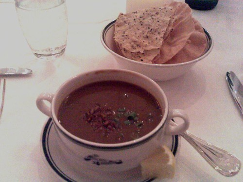 Mulligatawny Soup and Papadums