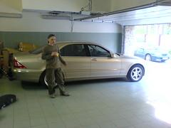 Костян и Mercedes S500 4matic