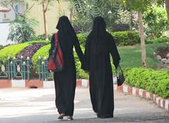 IMG 0048 e (Eric.Parker) Tags: woman india girl museum children women child hijab hyderabad niqab burqa salarjung 50millionmissing