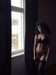 501 (Daniel Hammelstein) Tags: beauty availablelight window portrait lingerie dessous photography bonn fotografie danielhammelstein fotograf sinnlich sensual pure woman lumix gx8 panasonic mft microfourthirds systemkamera lens 20mm17 alienskin exposure polaroid grain lookslikefilm