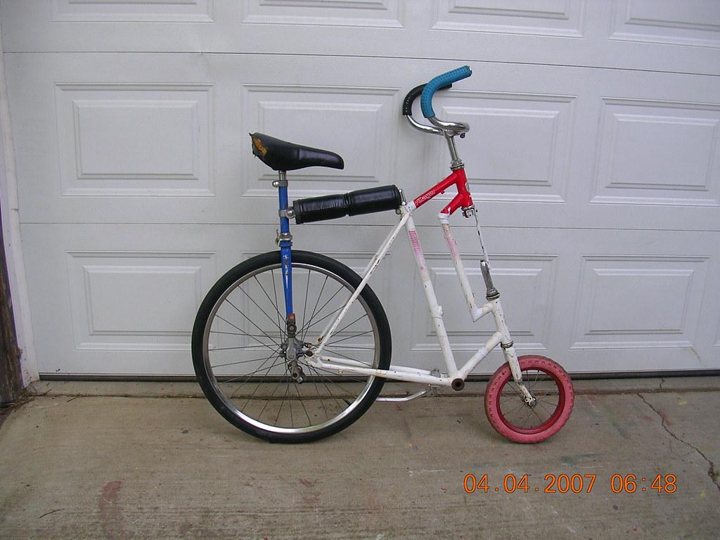 Mayor Julie's Uni converts into mini-Hi Wheel Safety Bike