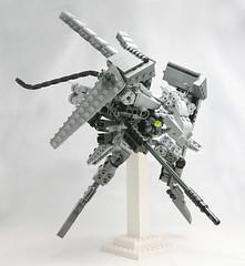 missile platform (jehkay) Tags: lego platform assault mosquito missile heavy mecha