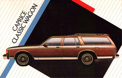 1986 Chevrolet Caprice Classic Wagon (coconv) Tags: auto old classic cars hardtop car station truck vintage magazine cards flyer automobile post antique album postcard ad advertisement vehicles chevy card postcards vehicle trucks autos collectible collectors brochure coupe automobiles 87 dealer prestige