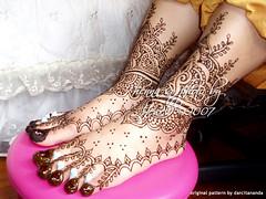 pretty feet, again! (Jewel Henna) Tags: henna mehendi bodyart mehndi mehandi