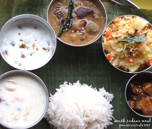easy recipe tamilnade cuisine south indian meal thali RCI