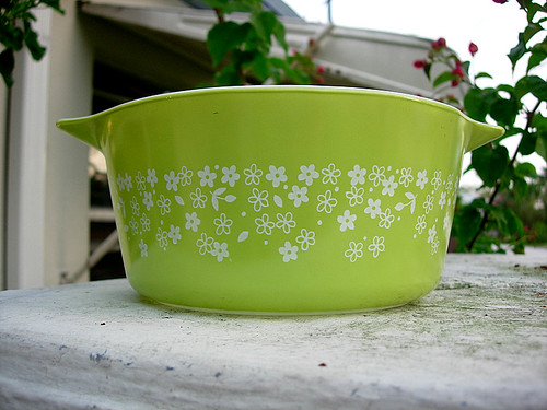 pyrex.green