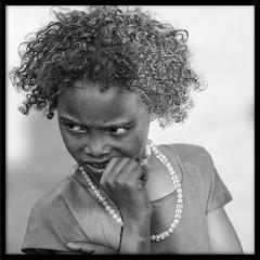 Framed B&W portraits : Borana boy (foto_morgana) Tags: africa boy portrait people bw children framed tribes ethiopia ethnic borana