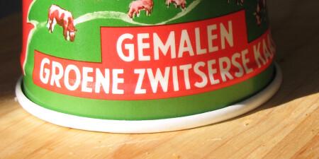 Groene Zwitserse kaas